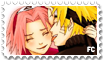 Stamp NaruSaku by Natzabel