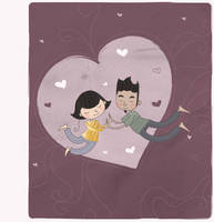 . flying love . by Pocket-Zoo
