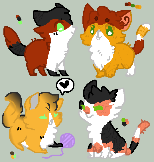 FoxPhase Litter (1 left!) by xXRollingGirlXx