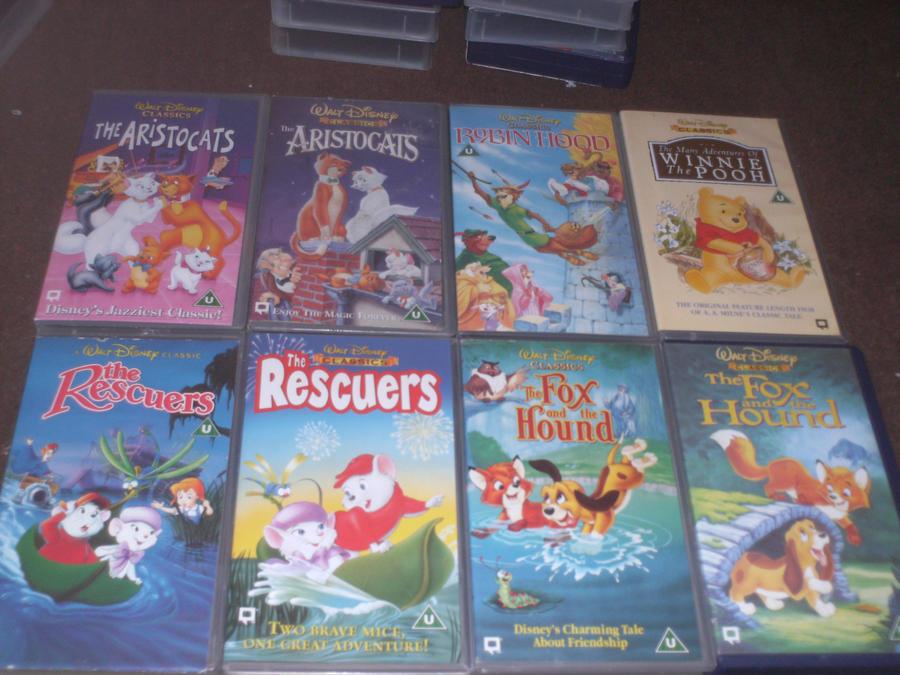 Disney VHS part 4 by lyndzeepie on DeviantArt