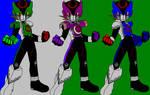 Megaman EXE DoGaBaKi Trio