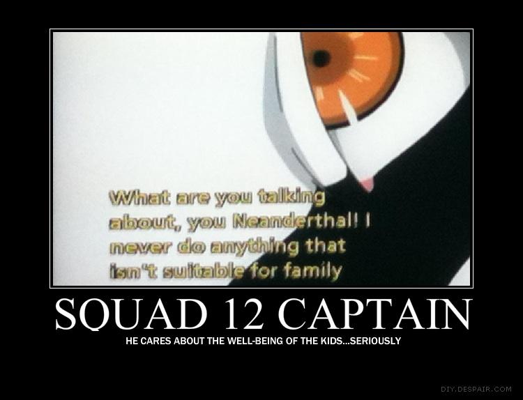 Squad 12 Captain by kabuyenku-raida