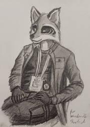 [NMA] Raccoon on duty