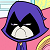 Raven Frown (Emoticons)