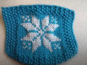 Fair Isle Knitting Practice 2