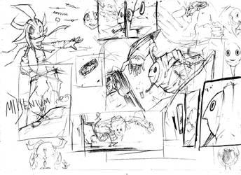 Manga Sketches by studioodin