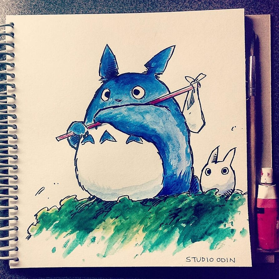 Totoro Doodle by StudioOdin