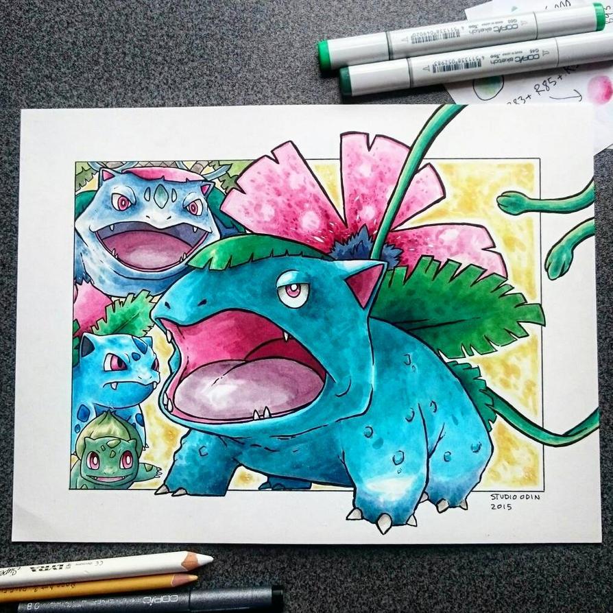 VENUSAUR artwork  by studioodin