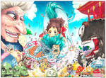 #1 COLOR SPREAD: Spirited Away