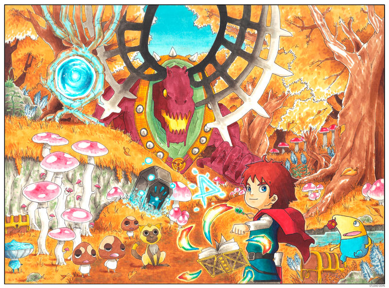 #2 COLOR SPREAD: Golden Grove by studioodin