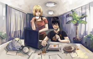 Aya and Slimeboy