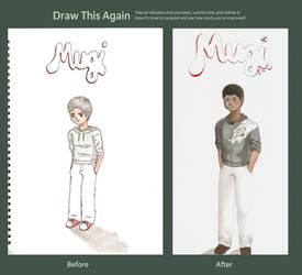 Me...kinda: Draw this again