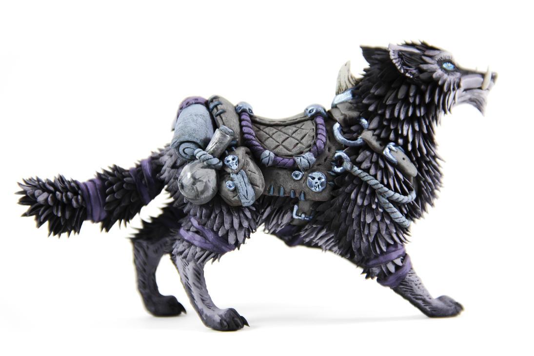 Amazing Garn Nighthowl (World Of Warcraft Sculpture) By ColibriWorkshop ...