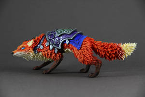 Llothien Prowler Fox (World of Warcraft sculpture)