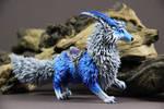 Vulpine Familiar Fox (World of Warcraft sculpture) by ColibriWorkshop