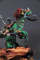 Vicious War Raptor (World of Warcraft sculpture)