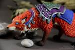 Llothien Prowler Fox (World of Warcraft sculpture)
