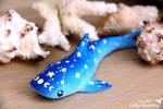 Space whale shark