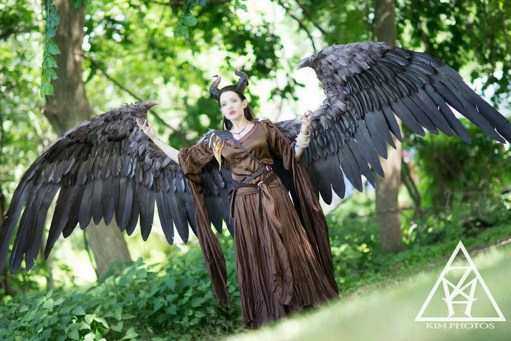 Maleficent Cosplay Full Size wings by TheGriffinQueen on ...