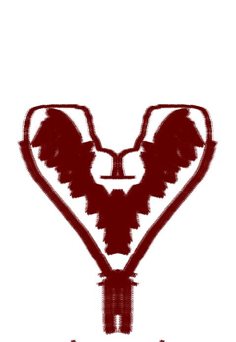 Symmetric Super 8Bit Heart (Simon Curtis Fanart) by LeafPsychoSpirit