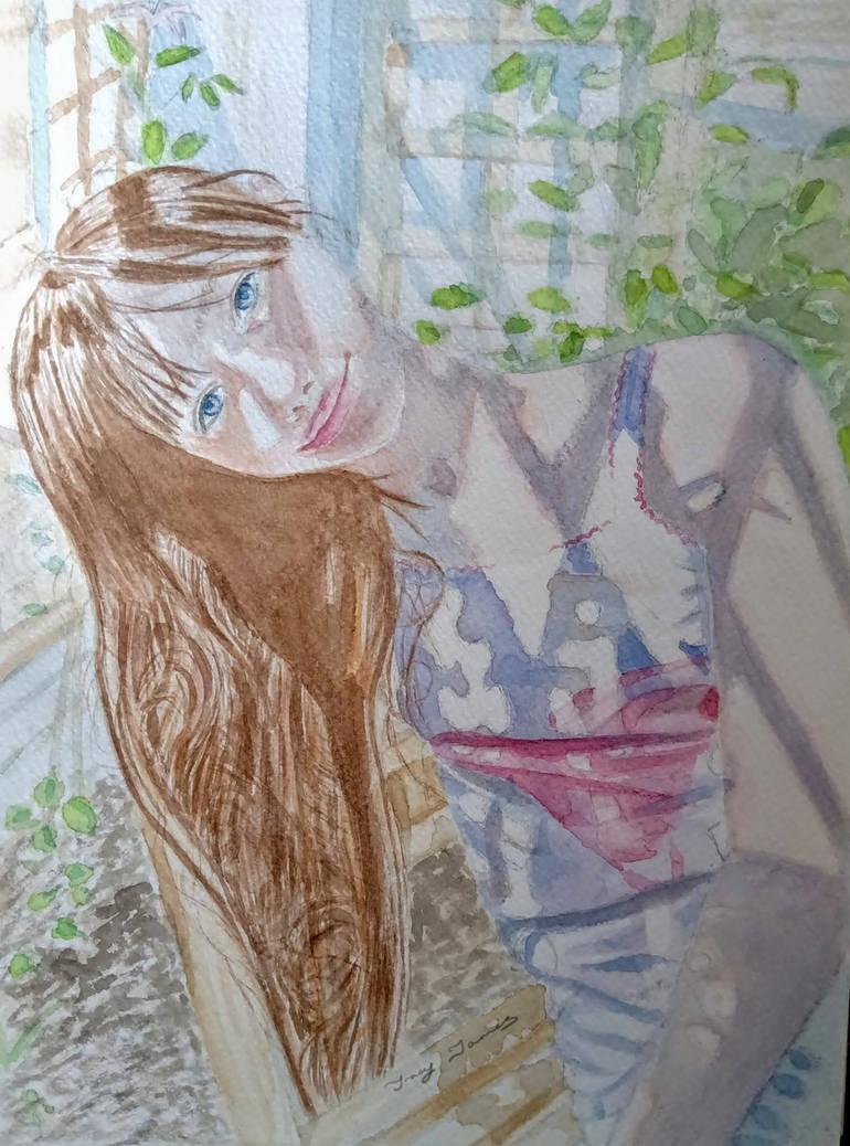 Girl Shadow Portrait