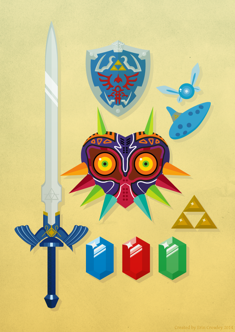 Legend of Zelda by thelilartist