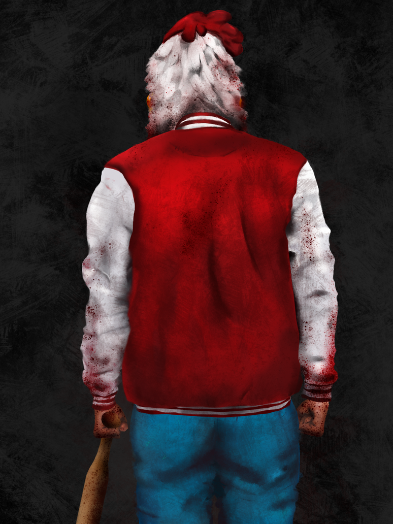 Jacket from Hotline Miami - WIP by thelilartist