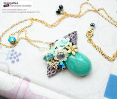 Nonya Love necklace SGD152 by littleorangetree