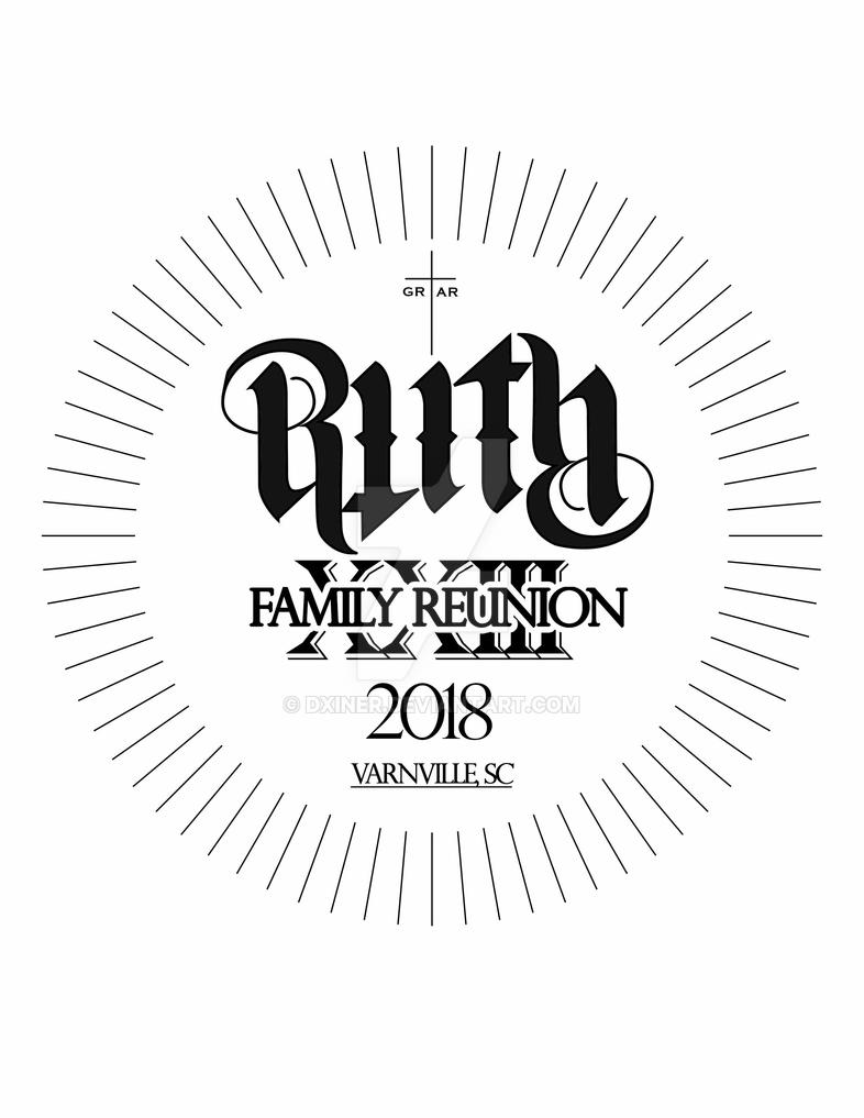 Family Reunion Shirts 2018 First Design By Dxiner On Deviantart