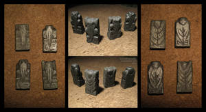Stone Cthulhu Figures