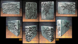 Sunk Relief Tablet with Tentacles