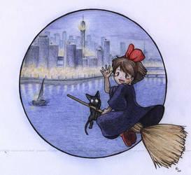 Kiki into the City