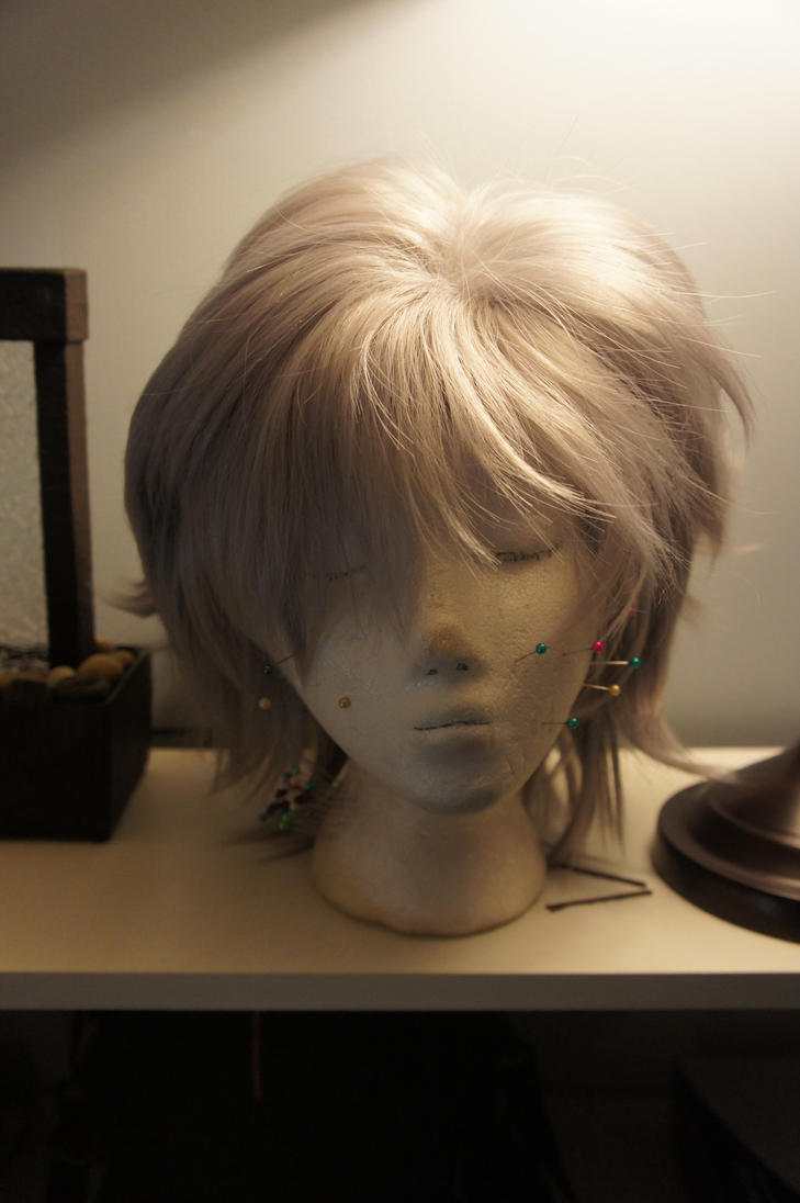 Silver Wig by Tray-kun