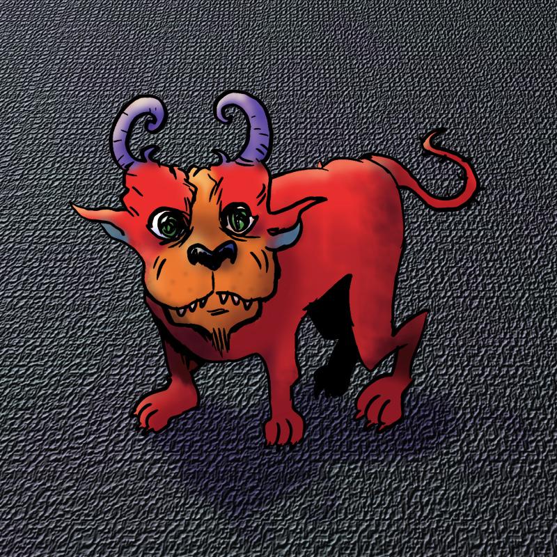 Demon Dog by michaelpatrick