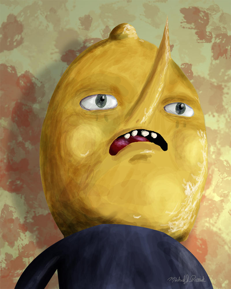 Lemongrab by michaelpatrick