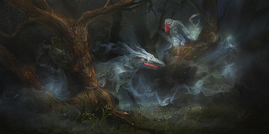 ghost by slabiak
