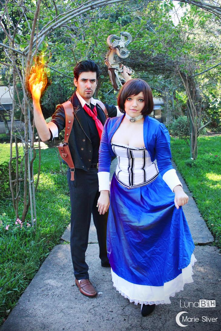 Booker and Elizabeth by LunaBih