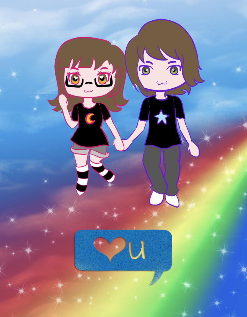 Couple Cute by LunaBih