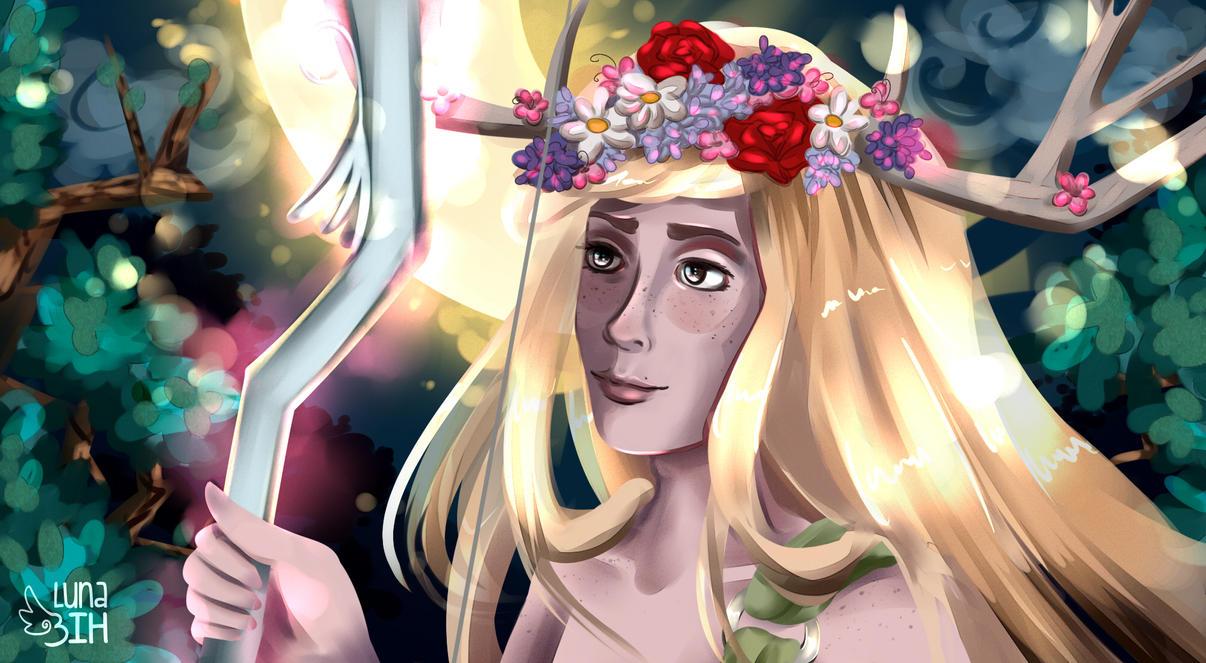 Artemis Male by LunaBih