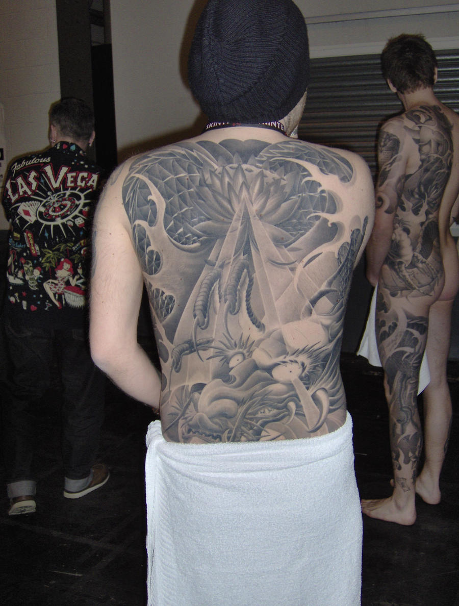 Amazing backpiece 2 by benhdv