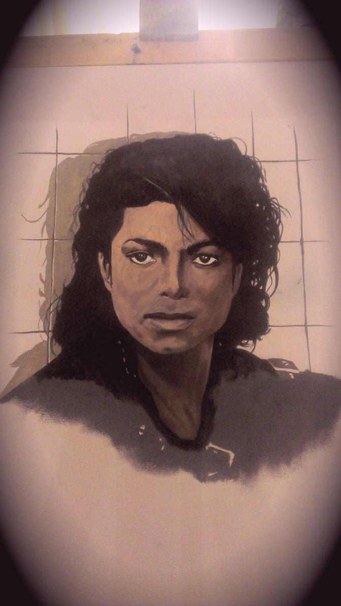 Michael Jackson Bad WIP by benhdv
