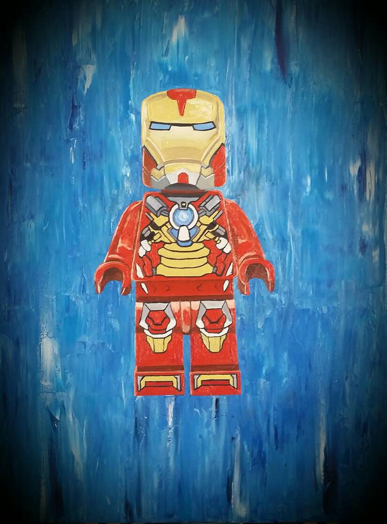 lego Ironman by benhdv