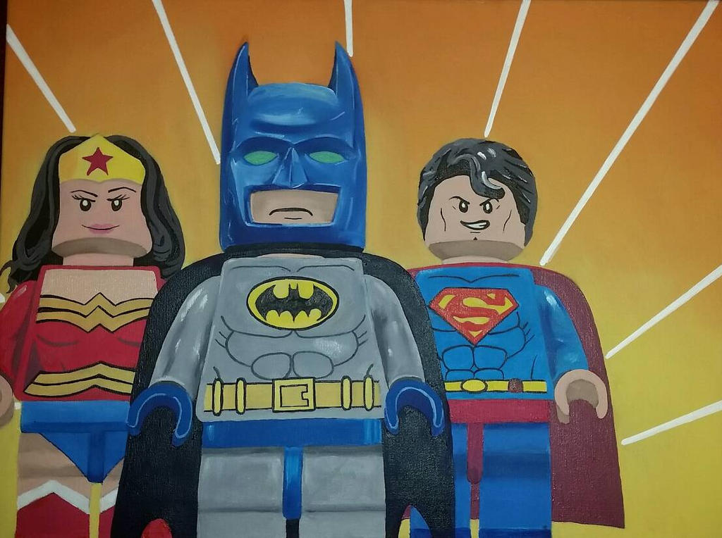 lego Justice League of America by benhdv