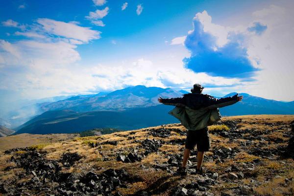 reaching the peak by RSphotoArt