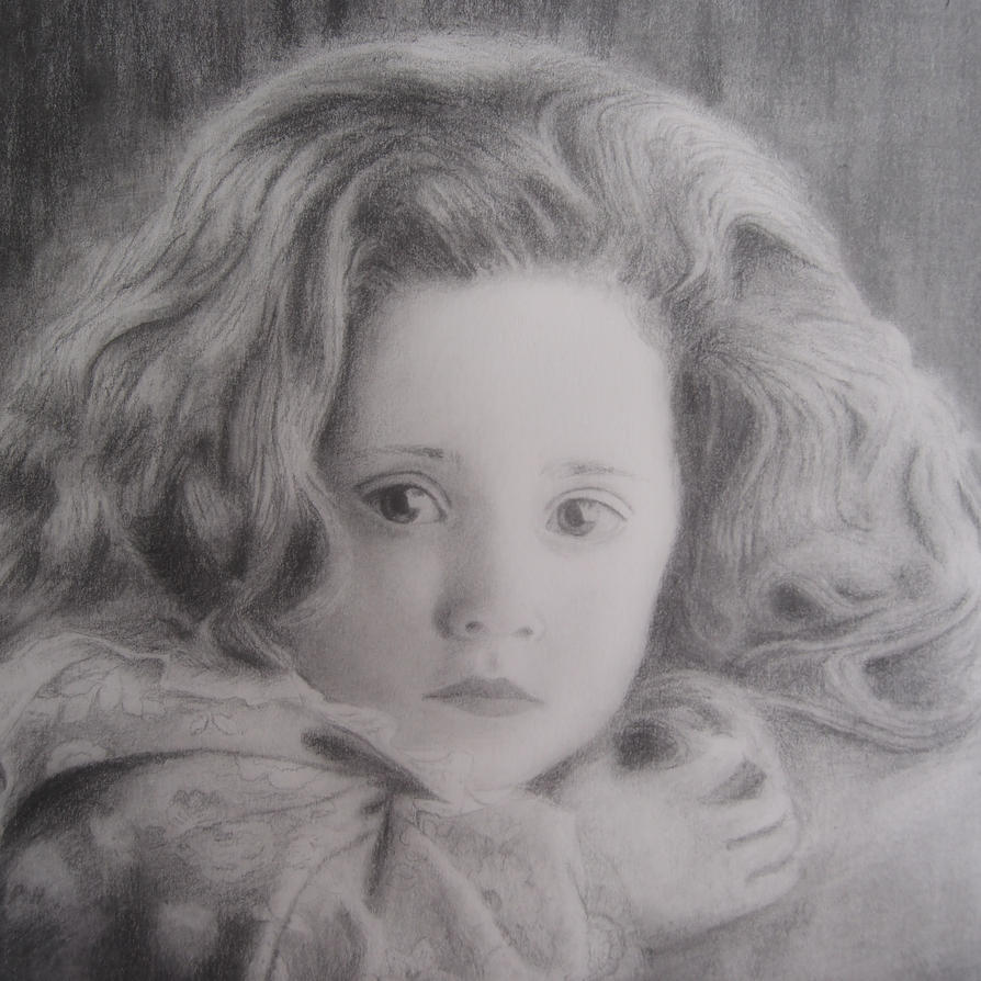 Art portrait of a child ( without watermark ) by BeironAndersson