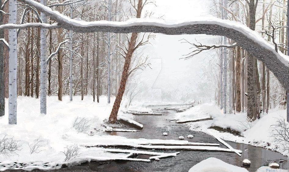 Winter stillness by BeironAndersson