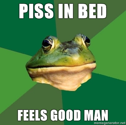 Piss In The Bed