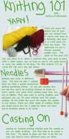 Knitting Tutorial - Casting on