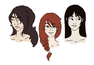 Nameless Gals - colours