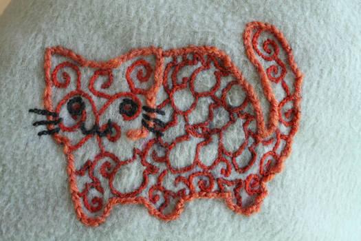 Orange Cat Closeup
